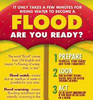 cdema flood preparedness disaster awareness materials